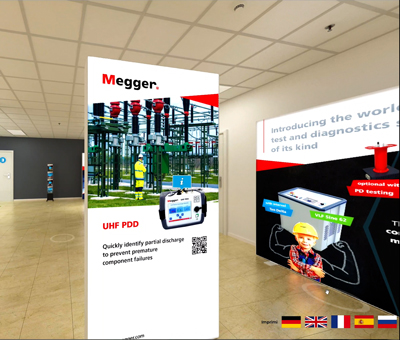 Megger expo virtual para cables